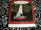 ARTIST FAVE!1994~HALLMARK KEEPSAKE CHRISTMAS ORNAMENT, KITTY'S CATAMARAN  T9361