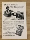1936 Texaco Motor Oil National Geographic Magazine Ad