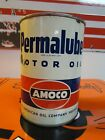 Vintage Early Permalube Motor Qt Oil Can * Amoco