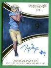 2016 Panini Immaculate Collegiate Football Cards - Checklist Added 17