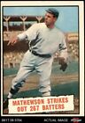 Christy Mathewson Cards and Autograph Guide 5