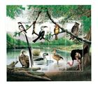 Tanzania 1996 Birds On Stamps Sheet of 8 Stamps MNH