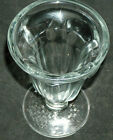VTG Libbey 1950s Ice Cream Parlor Thick Clear Flared Glass Ice Cream Sundae Cups