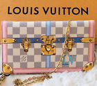 New Louis Vuitton Summer Trunk Weekend Pochette Shoulder Wallet Clutch Bag