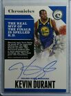 2017-18 Panini Chronicles Kevin Durant Auto Autograph SERIAL # 28 99 SUPER HOT