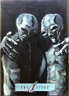 2014 X-Files Alien Sketch by Cat Staggs IDW Limited Original 1 1 X Files XFiles