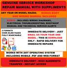 Mazda Factory Service Repair Manual Any Model 1996-2014 you pick OEM workshop