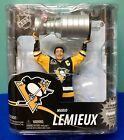 McFarlane MARIO LEMIEUX FIGURINE PITTSBURGH PENGUIN STANLEY CUP TROPHY NHL 30
