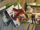 Deadpool Dishonored and Tomb Raider for Xbox 360LOT