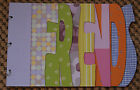 NEW XLG THICK Chipboard Scrapbooking Album 11 X 17 FRIENDS Ready to Decorate