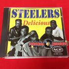 The Steelers Delicious PROMO USED CD Funk Soul Piranha Records