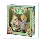 Happy Easter Duckling Embellished Shadow Box New Overstock