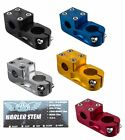 SE RACING BIKES NARLER STEM 1 1 8 THREADLESS BMX BIKE STEMS