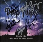 DEEP PURPLE - SIGNED BY 7 - Ian Gillan Glenn Hughes Nick Simper Paice AUTOGRPAPH