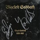 BLACK SABBATH Glenn Hughes Tony Martin Eric Singer Deep Purple, Autograph SIGNED