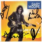 GARY MOORE - Ian Paice Neil Murray Anton Fig Don Airey Phillips Autograph SIGNED