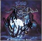 DIO Master of the Moon, RONNIE JAMES Rainbow Black Sabbath Holy Autograph SIGNED