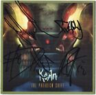 KORN Paradigm Shift, FULLY SIGNED Jonathan Davis Head Munky Fieldy Ray AUTOGRAPH