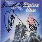STATUS QUO In the Army Now RICK PARFITT +2 Whatever You Want CD Autograph SIGNED