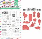 Echo Park Paper BEST SUMMER EVER Say Hello to Summer Die and Clear Stamp Set