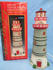 Lemax Deluxe Village Square Misty Harbor Lighthouse 75244 Lighted