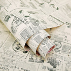 Self Adhesive Shelf Liner Newspaper Drawer Contact Paper Shelf Liner Wallpaper