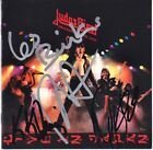 JUDAS PRIEST Unleashed in the East, ROB HALFORD K.K. Downing +2 Autograph SIGNED