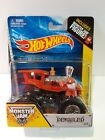 VERY RARE Hot Wheels MONSTER JAM 2013 164 Scale DERAILED w Figure