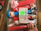 Vintage Pez Dispensers lot of 6 Goofy Bunny Wonder Woman Charlie Brown Mickey Mo