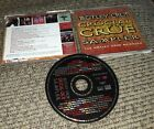 Motley Crue Crucial Crue Sampler radio station dj Promo Only CD 17 Tracks HITS