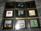 9 MSFL 24K Gold Audiophile Ultradisc UDCD cd Lot OOP Queen Pink Floyd Supertramp