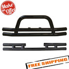 Smittybilt Front  Rear Black Tubular Bumpers for 2007 2018 Jeep Wrangler JK