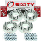 4pc 5x45 to 5x5 Wheel Spacers Adapters 15 for Mazda 5 B2000 B2200 B2600 tv