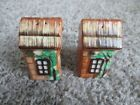Vintage Cottage Shaped Ceramic Salt and Pepper Shakers Made in Japan MINT
