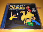 AROUND THE WORLD with CHIPMUNKS cd HITS from ALVIN SHOW arabia japan mexico hawa