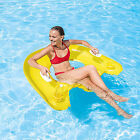 Inflatable Lounge Cooler Floating Float Pool Raft Swimming Lake River Tube Party