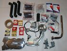 Lot Of Vintage Honda 50 Parts, Super Cub, Pistons, Carb., Ignition, Cover, Pegs.