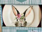 Ciroa EASTER BUNNY RABBIT WITH DAISY IN HER HAIR DINNER PLATES SET of 410 1 2