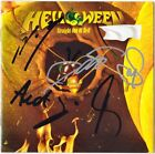 HELLOWEEN Straight Out of Hell, FULLY SIGNED Andi Deris Weikath Keeper AUTOGRAPH