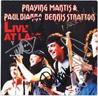 PRAYING MANTIS Live at Last FULLY SIGNED - Paul Di'Anno +4 Iron Maiden AUTOGRAPH