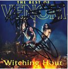 VENOM Witching Hour FULLY SIGNED - Cronos Mantas & Abaddon Black Metal AUTOGRAPH