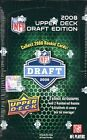 2008 Upper Deck DRAFT EDITION Football HOBBY Box 08 UD AUTO Rookie Card RC Rice