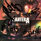 PANTERA Mouth for War FULLY SIGNED Dimebag Darrell Vinnie Paul Phil +1 AUTOGRAPH