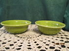 Fiesta Ware LEMONGRASS Green  Salsa or Fruit Bowl  9 Ounce (Set of 2)
