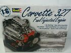 Revell Corvette 327 Fuel Injected Engine Model Kit  1/6 SCALE Die-Cast New Open