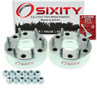 2pc 5x45 to 6x55 Wheel Spacers Adapters 2 for Mazda 5 B2000 B2200 B2600 ep