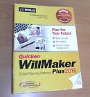 NEW NOLO Quicken Willmaker Plus 2016 Estate Planning Software ***CD INCLUDED***