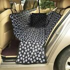 Waterproof Dog Car Seat Cover Travel Vehicle Back Hammock Portable Car Sheet