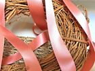 Berisfords Shade 9792 Rose Gold Double Satin Ribbon 3 7 10 15 25 35 50mm Widths