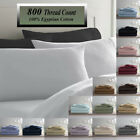 Deluxe Ultra Soft 800 Thread Count 100 Egyptian Cotton Solid Bed Sheet Set